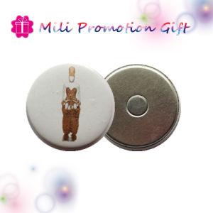 Custom Round Badge Print Fridge Magnet pictures & photos