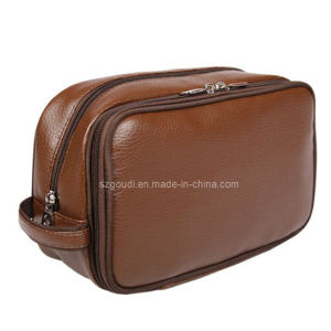 Male′s PU Toiletry Cosmetic Bag for Travel