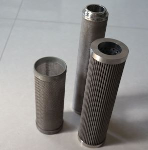 Anping Factory 2 Microns to 300 Um Sintered 304 Stainless Steel Wire Mesh Filter Tube pictures & photos