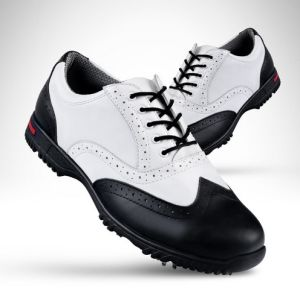 Men Leather Shoes Waterproof Slip-End Comfort Lightweight Golf Shoes (AKGS8) pictures & photos