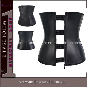 Sexy Women 9 Steel Bonded Rubber Waist Slimming Corset (TG772) pictures & photos