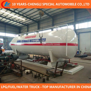 China High Quality 50 Cbm LPG Skid Station for Sale pictures & photos