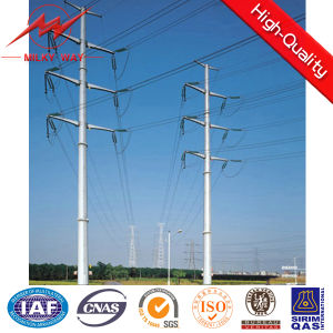 Galvanized Steel Electrical Utility Pole pictures & photos