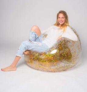 Inflatable Glitter Chair Sofa