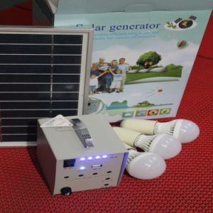 Low Price 10W Portable Solar PV Panel Power Energy Lighting Kit pictures & photos