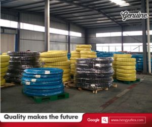 High Pressure Wire Braided Hydraulic Rubber Hose Braided Fuel Hose pictures & photos
