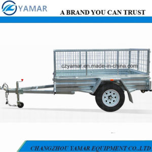 Cargo Trailer with Cage pictures & photos