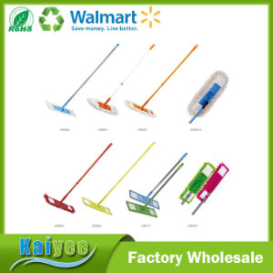 Removable Replaceable Double Side Flat Mop Cleaning Floor pictures & photos