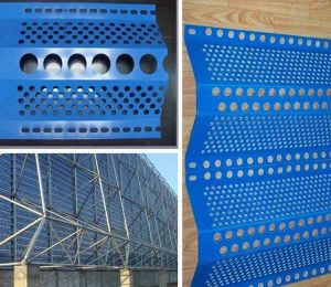 Anti Wind and Dust Mesh (single peaks) /Perforated Metal Mesh pictures & photos