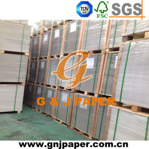 High Quality Clay Coated White Duplex Paper with Grey Back pictures & photos