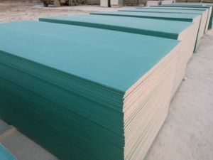 Waterproof Gypsum Board /Moisture Proof Gypsum Board /Gypsum Board /Plaster Board /1200*2400*9mm pictures & photos