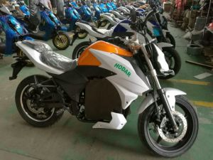 100km/H Speed Fast Electric Racing Motorcycle Motorbike HD4000-Dpx pictures & photos
