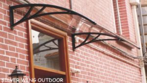 Outdoor Polycarbonate Roof Plastic Canopy Awning for Window and Door pictures & photos