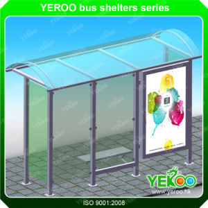 High Quality Outdoor Street Advertising Bus Stop Design pictures & photos
