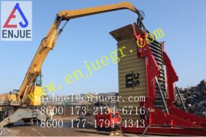20FT 40FT Hydraulic Container Tilter for Loading Corn and Rice Grains pictures & photos