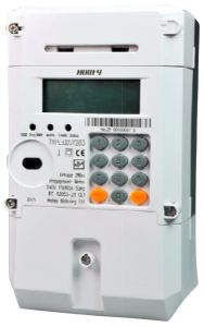 Single Phase Electronic DIN Rail Active Energy Meter pictures & photos