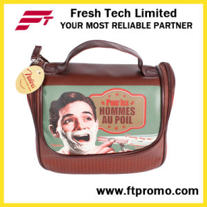 Promotional PVC Leather Cosmetic Bag with Logo pictures & photos