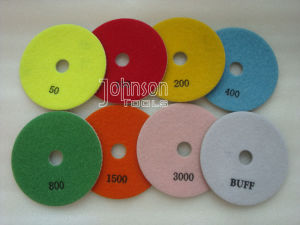 125mm Diamond Dry Granite Polishing Pad for Stone pictures & photos