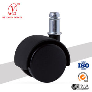 Casters and Wheels Plastic Twin Wheel Casters Plastic Chair Caster Wheel Cabinet Castor pictures & photos