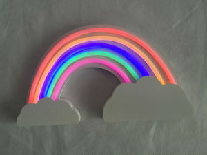 Wooden Rainbow LED Christmas Decoration Lighting pictures & photos