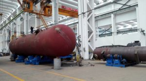 Good Quality 50000L 18bar High Pressure Carbon Steel Storage Tank for LPG, Ammonia pictures & photos