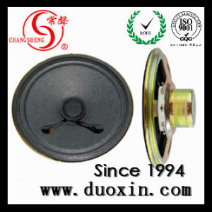 70mm Paper 8 Ohm Loudspeaker for Alarm System pictures & photos