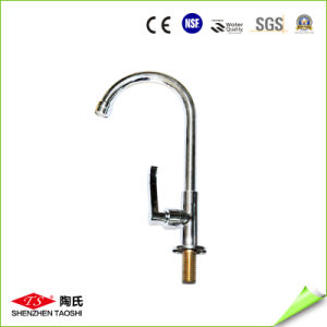 Gooseneck Cold and Hot Water Lead Free Kitchen Faucet pictures & photos