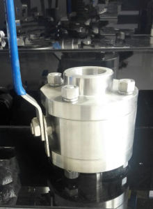 Stainless Steel or Wcb High Pressure (800LB-16MPa) Ball Valve pictures & photos