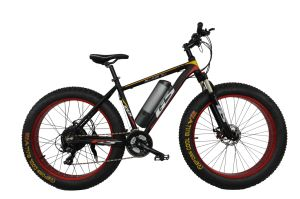 26 Inch Fat Tyre Aluminum Alloy E-Bike Electric Bike pictures & photos