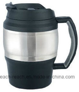 650ml Double Wall Plastic Beer Mug (R-BK006) pictures & photos