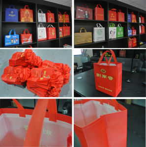 Non Woven Box Bag Making Machine pictures & photos