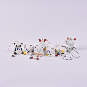 Processing Customized Various Cartoon Character Creative Ceramic Small Bells pictures & photos