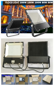 Slim Floodlight 150W Dimmable Outdoor LED Flood Light pictures & photos