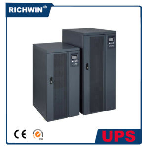 Three Phase 20kVA~40kVA Pure Sine Wave High Frequency Online UPS, with External Battery Pack pictures & photos