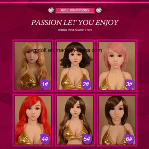 Wig for Sex Doll, Hair for Silicone Real Doll Fit for 100cm -165cm Love Doll pictures & photos