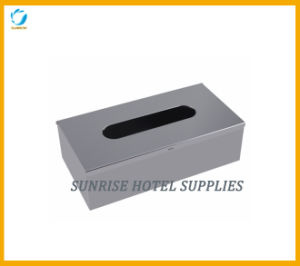 304# Stainless Steel Rectangular Tissue Box pictures & photos