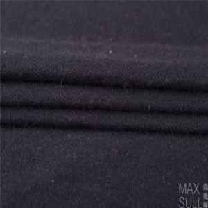 Mixed Wool Fabric with Durable for Autumn Winter in Black