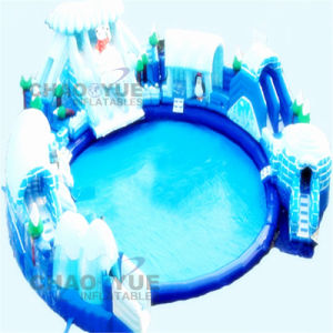 Hot Popular Giant Snow Inflatable Water Park for Water Sport pictures & photos