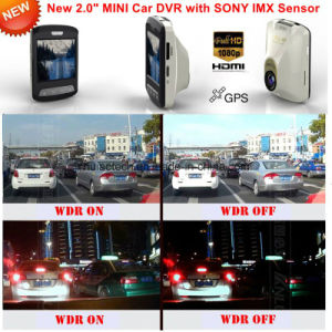 New Mini 2016 2.0inch GPS Log Car DVR with Sony Imx 322,Night Vision Car Camera, FHD1080p Car Digital Video Recorder,5.0mega Car Black Box, GPS Tracker DVR-2414 pictures & photos