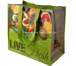 PP Fabric Handle Bag with Customized Printing (YYNWB063) pictures & photos