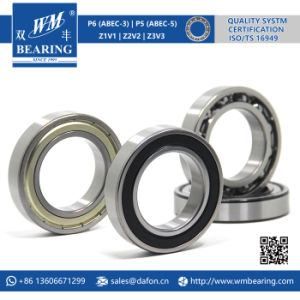 6011 2RS Low Friction Sealed Deep Groove Ball Bearing pictures & photos