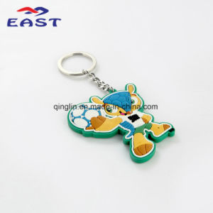 Hot Sale Customized Fancy Cartoon PVC Key Ring pictures & photos
