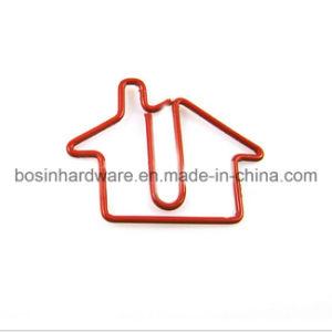 House Shape Design Metal Paper Clip pictures & photos