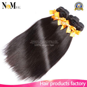 7A Grade Unprocessed Brazilian Virgin Hair Straight Human Hair Weaving pictures & photos