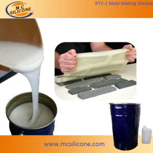 Liquid RTV2 Silicone Rubber for Concrete Artificial Imitation Stone Demould/Mold Making Stone pictures & photos