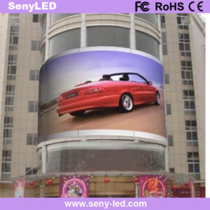 Curved Full Color Outdoor LED Display pictures & photos