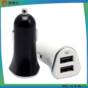 2016 Factory Price Triangle 2 USB Car Charger pictures & photos