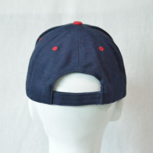 Design 3D Embroidery Navy Cotton Twill Baseball Cap pictures & photos