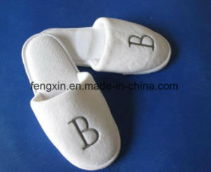 Comfortable Hotel Slippers with Custom Logo pictures & photos