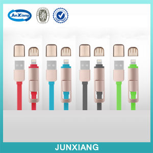 2017 Trending Products 2.4A Magnetic USB Cable 2 in 1 with Type C pictures & photos